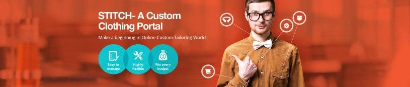 Custom Clothing Website