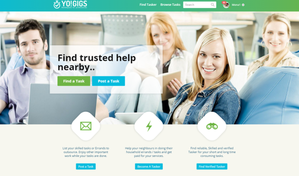Yo!Gigs - Online Services Marketplace Script
