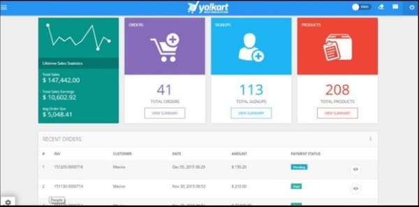 Yo!Kart Review A Multi-Vendor Platform with Awesome Pricing for Startups