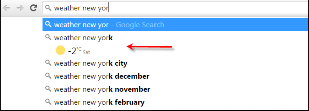 instant search results more prompt