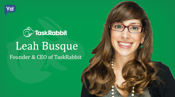 Leah Busque (Founder & CEO, TaskRabbit)