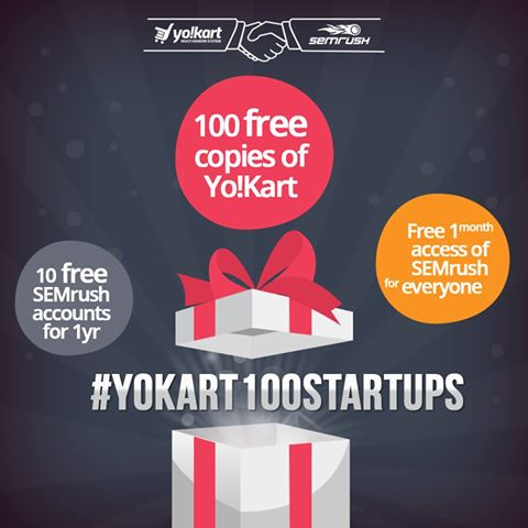Are you still waiting for a better opportunity? Signup for ‪#‎YoKart100Startup‬