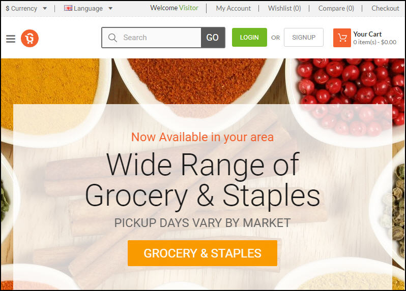 How Much Would It Cost To Launch Online Grocery Store Website