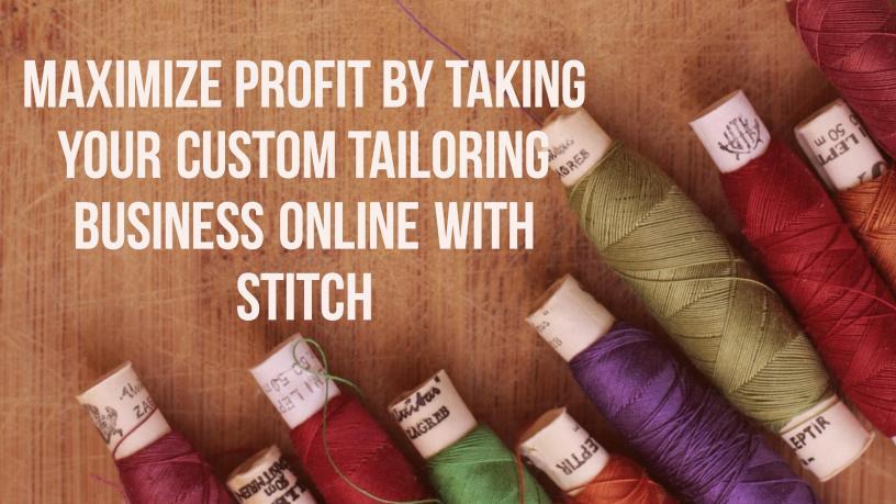 Stitch – custom clothing platform