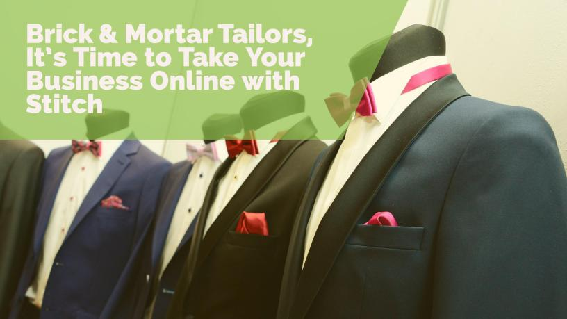 online custom tailoring business